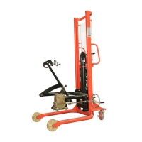 Buy cheap 350kg 1.6 meter Drum Lifter Truck from wholesalers