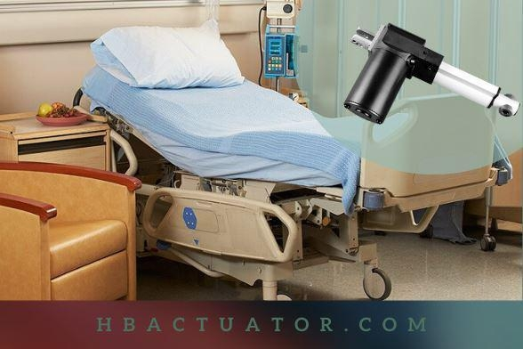 China Linear Actuator Electric For Hospital Beds
