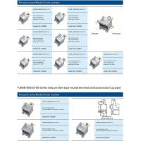 Buy cheap FJ6NB-400/25-70 Series inde pendent type neutral terminal block (connection lug type) from wholesalers