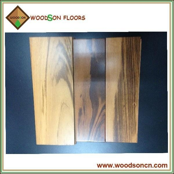 Quality Nature Tigerwood Hardwood Flooring for sale