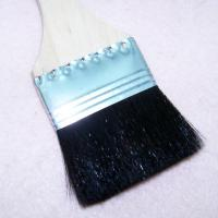 High quality 14pcs wood color wooden handle nylon brush wall paint brush professional artist brush Manufactures