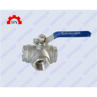 Buy cheap 3 way female thread ball valve from wholesalers