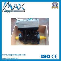 Sinotruk HOWO Truck Engine Parts Double Cylinder Air Compressor Manufactures
