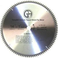 "Quality TCP35 14"" 100T Carbide Saw Blade for STEEL for sale"