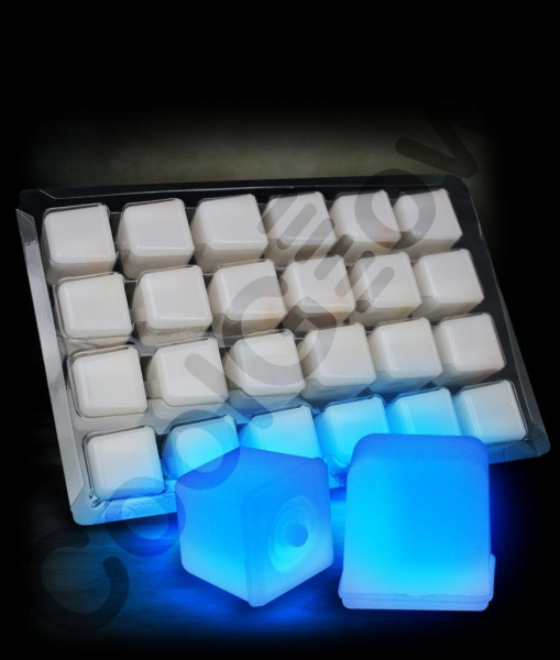 Quality Glowing Ice Cubes - Blue for sale