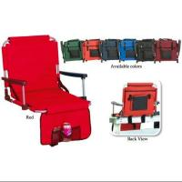 20 Portable Stadium Seat With Arm Rests & Pockets Manufactures