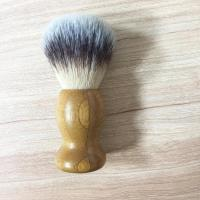 Professional Real Bamboo handle synthetic hair shaving brush Manufactures