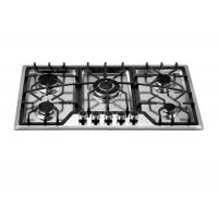China Professional kitchen equipment/home equipment five burners built-in gas hob on sale