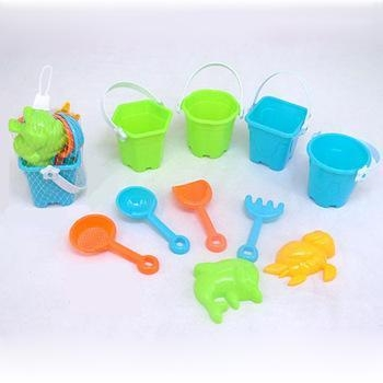 Quality Awesome fun cheap sand bucket and shovel set games kids beach toy for sale