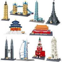 WANGE hot sale plastic creative connecting building blocks for kids Manufactures