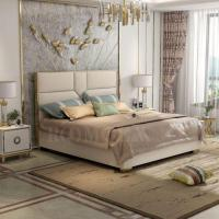 China Luxury King Size Bed Frame on sale