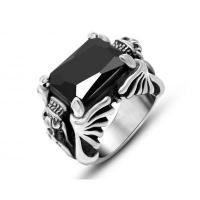Buy cheap Wholesale Stainless Steel Double Dragon CZ Ring #SA750 from wholesalers