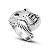 Buy cheap Wholesale Stainless Steel Guitar Rock Biker Rings #SA711 from wholesalers