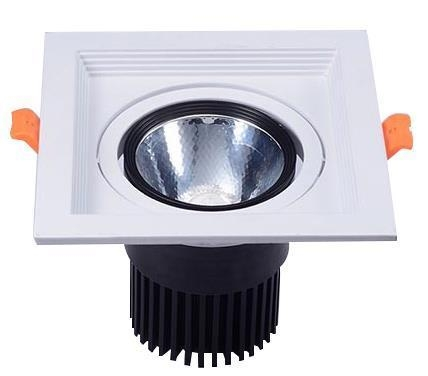 Quality COB LED 15W Recessed Square Downlights for sale