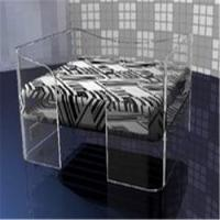 China Acrylic Dog Bed Modern Pet Beds on sale