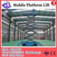 China Mobile electro-hydraulic scissor lift on sale