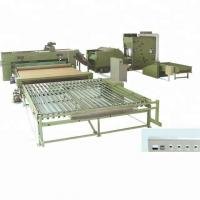 Thermal bonded wadding non woven production line and hard thermal bonding wadding machine Manufactures