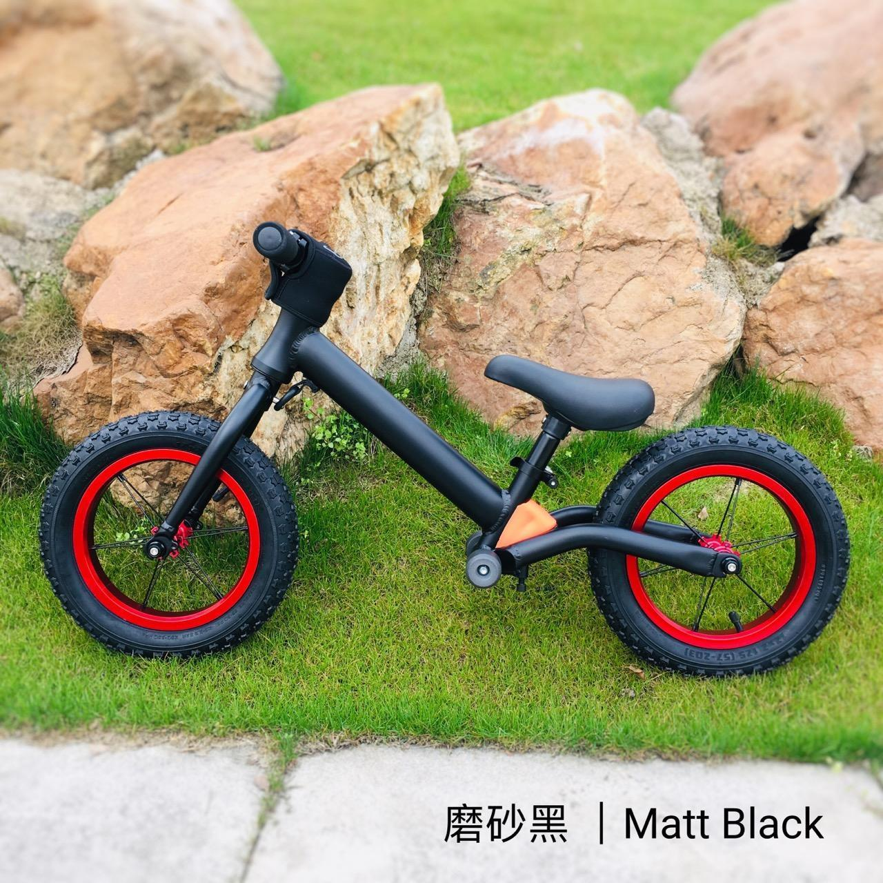 【A1208】12-inch Aluminum Alloy Kids' Balance Bike With Dampingl Manufactures