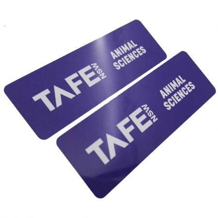 Quality Full Color Plastic Name Badges for sale