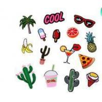 Buy cheap Cactus embroidery patch,red lipstick clothes decoration, bag hat accessories , cool, coconut tree from wholesalers