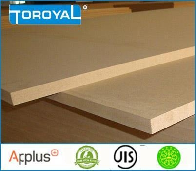 Quality MD F Formaldehyde-free Out Door MDF Board for sale