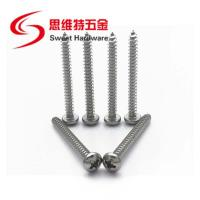 304 stainless steel phillips pan head ss self tapping screw DIN7981 Manufactures