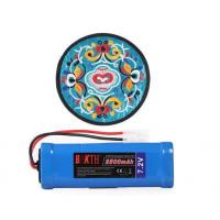 China BAKTH Rechargeable Ni-MH Battery Pack 7.2V 2500mAh 6 Cells for RC Cars + BAKTH Coaster as Gift on sale