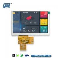 China Wholesale WVGA 5 inch TFT LCD display with SSD1963 controller board on sale
