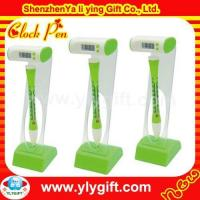 Custom floating pen with clock CL-00002-8 Manufactures