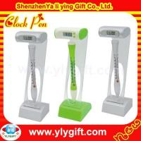 Plastic logo floater pen with watch CL-00002-10 Manufactures