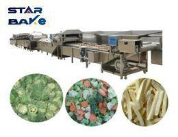 Quality Pasta products processing mach Frozen vegetable production ma for sale
