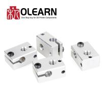 Buy cheap E3D V6 Upgraded Version Heating Block 23*16*12mm For PT100 And NTC3950 Thermistor from wholesalers