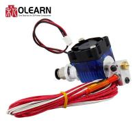 Buy cheap V6 J-head Hotend Extruder Kit With Cooling Fan + Bracket Block + Thermistors + Nozzle from wholesalers