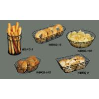 WIRE BREAD/FRUIT BASKETS WBKG-10O Manufactures