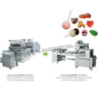 Buy cheap Automatic hard and jelly candy depositing production line HTL-150/300/450/600 from wholesalers
