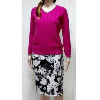 Buy cheap 100% cashmere v-neck tops from wholesalers