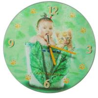 Quality Glass Wall Clock No.: clk009 for sale