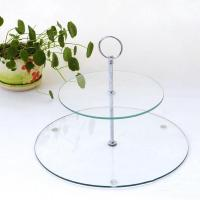 Quality Glass Cake Stand for sale