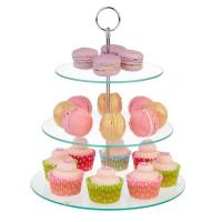 Buy cheap Glass Cake Stand from wholesalers