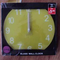 Quality Glass Wall Clock No.: clk006 for sale