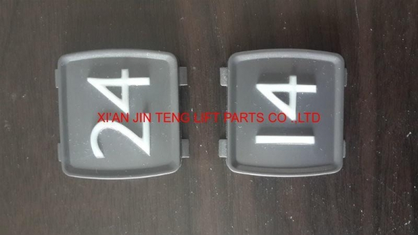 Quality Elevator Buttons mitsubishi push button / Mitsubishi word slice of button for sale