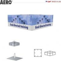 Trade Show Signs Aero Hanging Banner Sign  4-Sided Rectangle Manufactures