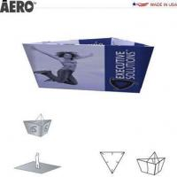 Trade Show Signs Aero Hanging Banner Sign  Tapered Triangle Manufactures