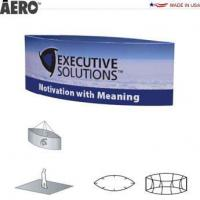 Trade Show Signs Aero Hanging Banner Sign  Oval Manufactures