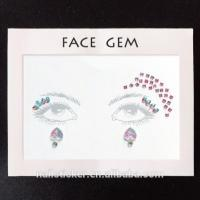 Smaill MOQ Mermaid Scale festival face gems Manufactures