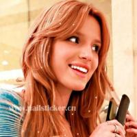 Charmsies Bella Thorne metallic sweet little heart-shaped iron in hair charms fa Manufactures