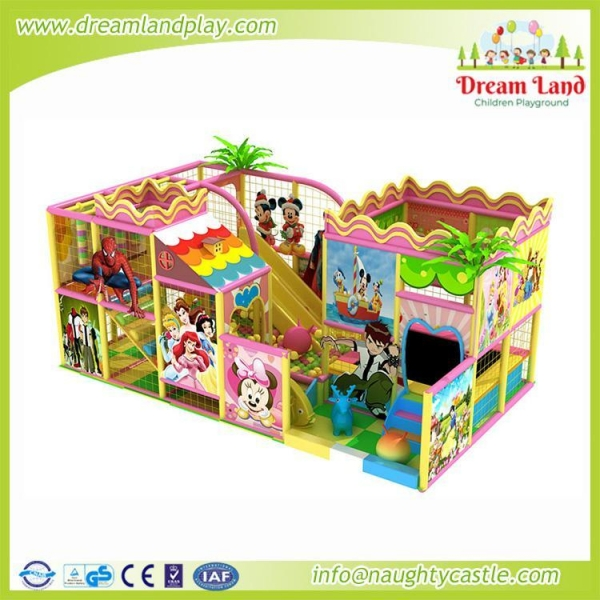 Quality DL-114 Indoor playground for sale
