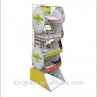KingKara KAKS3424 clothing store shelves with guangzhou corrugated sheet metal for s ket trolly Manufactures