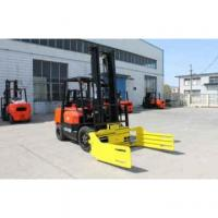 3 tons Bale roll clamp forklift Manufactures