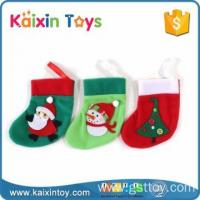 10255317 Party Supplier Handmade 6.5 Inch Colorful Hanging Bulk Christmas Stockings Manufactures